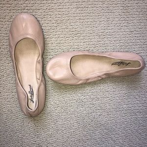 Lucky Brand Shoes - Lucky brand nude emmie leather flat